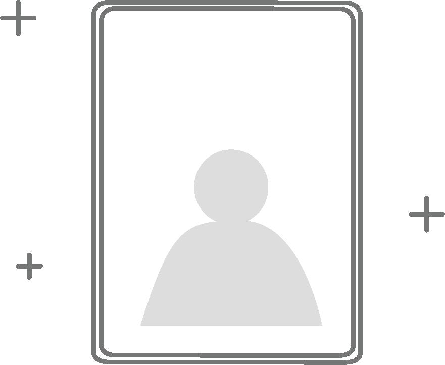 Candidature et admission chez EcoSup Tourisme : dessin d'une photo d'identité